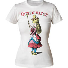 Alice's Adventures In Wonderland Queen Alice Juniors Crewneck T-Shirt Tee