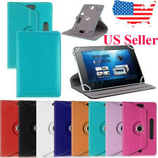 Universal 360° Folio Leather Flip Stand Case Cover For 10 inch Android Tablet PC