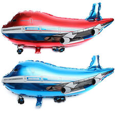 31 inch Flying Plane Shape Balloon Airplane Foil Helium Balloon Gift Party Decor