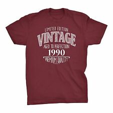 Vintage 1990 - SCRIBBLE - 27th Birthday Gift Distressed Print T-shirt