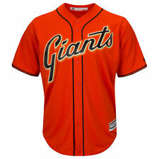 San Francisco Giants Majestic Official Cool Base Jersey - Orange - MLB