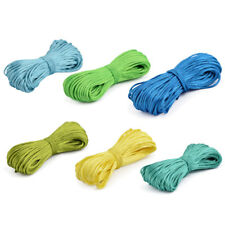 Household Polyester Chinese Knot Braided Craft Thread Rattail Cord String 30M