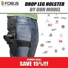ALL FOBUS Drop Leg  Thigh Rig Holsters