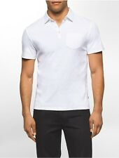 calvin klein mens classic fit solid polo shirt