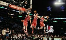 Blake Griffin Basketball Star Art Print poster (40x24inch)Decor 18