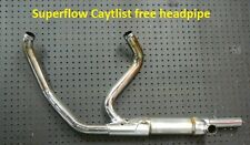 Non  Catalyst Harley header pipe 2010 and up  Roadking, Touring Bikes