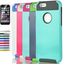 For iPhone 6S Armor Case Hybrid Hard Heavy Duty Protective iPhone 6 Cover Bumper