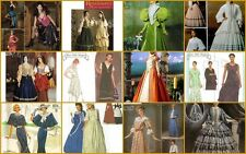 Simplicity Sewing Pattern Misses Renaissance Victorian Civil War Costume U Pick