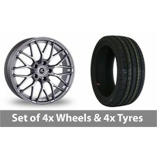 """4 x 16"""" AC Wheels Saphire Silver Alloy Wheel Rims and Tyres -  195/45/16"""