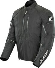 Joe Rocket-Honda CBR Textile Motorcycle Jacket - Black/Black