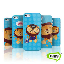Cute Lion Protective Snap on iPhone 5 Case 5s Cover