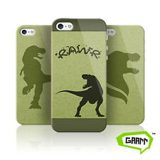 Dinosaur T. Rex Protective Snap on iPhone 5 Case 5s Cover