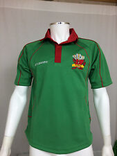 Wales Supporters Rugby Jersey Emerald/Red S-2XL
