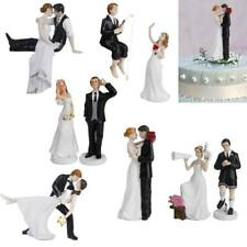 Funny Novelty Bride and Groom Wedding Cake Topper Decoration Romantic Figurine