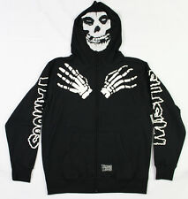 Famous Stars & Straps X Misfits Fullzip Hoodie in Black NWT FAMOUS Free Shipping