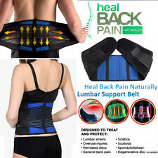 Lower Back/Lumbar Brace, Support Belt, Work Safety, Weight Lifting,Pain Relief H
