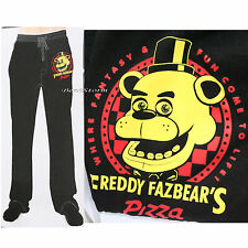 NEW Five Nights at Freddy's Pizza Fazbear Sleep Lounge Pants Pajamas MENS L & XL