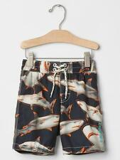 NWT BABY GAP BOYS SWIM TRUNKS SHORTS  sharks   5t