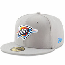 Oklahoma City Thunder New Era State Stare 59FIFTY Fitted Hat - Gray