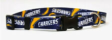 CHOOSE SIZE -YELLOW DOG - MADE IN USA - NFL DESIGNER COLLAR - SAN DIEGO CHARGERS