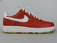 Nike Mens Air Force 1 Low Premium Puerto Rico Red Retro AF1 Shoes 318775 601