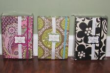 Vera Bradley PETITE FOLIO Accordion File Organizer & Note Pad, Great For Coupons