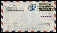USN LITTLE AMERICA ANTARCTICA JAN 1957 OPERATION DEEP FREEZE SLOGAN CANCEL ON NA
