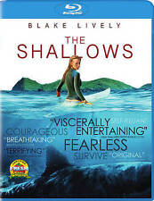The Shallows Blu-ray/DigitalHD 2016 - NEW  ,free shipping