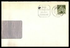 Germany 30 Franked Single Franked Cover Commercial With Slogan Cancel