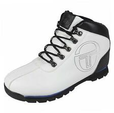 Sergio Tacchini Boy's Quay Youth Mid Casual Fashion Boots Shoes School white