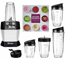 Nutri Ninja Auto iQ Pro Complete Blender with 5 To Go Cups and 4 Lids | BL487