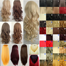 Sexy ladies 3/4 Wigs Fall Half Wig Clip In Hair Piece new party Long cosplay GY