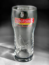 Personalised Kingfisher Half Pint Beer Lager Glass Engraved and Boxed
