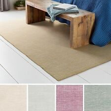 Hand-Woven Ethan Wool/Cotton Rug (4' x 6')