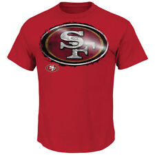 San Francisco 49ers Majestic Line to Gain III T-Shirt - Scarlet - NFL