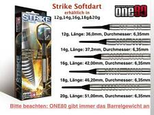 Strike Soft Darts by ONE80 12 14 16 18 20 Grams Darts Arrow