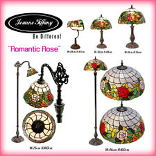 """""""Romantic Rose"""" STYLE REAL STAINED GLASS HANDCRAFTED TIFFANY LAMP(5 Types)"""