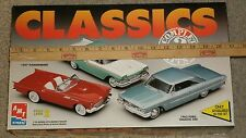 AMT/Ertl Classics Car Set Complete 3 Kits in One Box - LAST TIME LISTED***