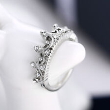 New Fashion Exquisite Imperial Crown Alloy Wedding Ring Jewelry Women Girl Gift