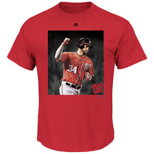 Bryce Harper Washington Nationals Majestic Heat Of The Moment T-Shirt - MLB