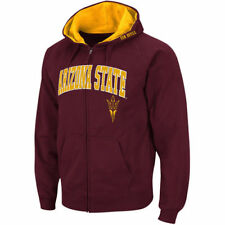 Arizona State Sun Devils Stadium Athletic Arch & Logo Full Zip Hoodie - NCAA