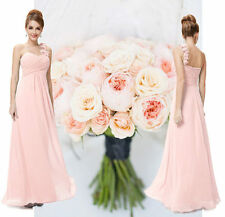 BNWT ELODIE Pink Long Maxi Prom Evening Bridesmaid Ballgown Dress UK 8 - 20