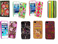 NWT VERA BRADLEY IPHONE 5 SNAP ON CASES LILLI BELL, PURPLE PUNCH & TUTTI FRUTTI