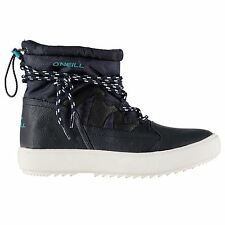 ONeill Womens Bella Rip Snow Winter Warm Laced Textured Panelling Shoes