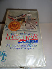 IMPEL  1991 U.S. OLYMPIC HALL OF FAME TRADING CARDS BOX   SEALED