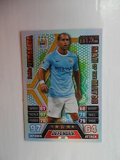 Match attax 2013 2014 (Blue backs) Man of the match cards teams M-W.
