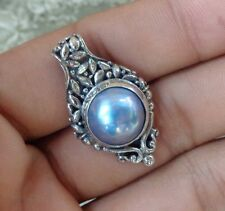 Mabe Pearl Bali Handcrafted Solid Silver, 925 Pendant 28358