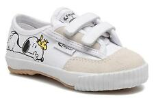Kids's Feiyue Fe Lo Snoopy Low rise Trainers in White