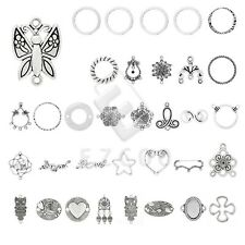 5-150pcs Lots Tibetan Silver Charm Pendant Links Connector Jewellery Findings YB