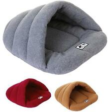 Pet Cat Dog Nest Bed Puppy Soft Warm Cave House Winter Sleeping Bag Mat Pad gift
